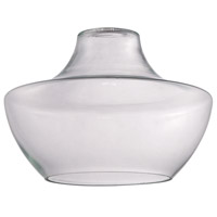 Design-A-Fixture Clear 11 inch Mini Pendant Glass in Clear Glass