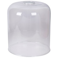 Design-A-Fixture Clear 7 inch Mini Pendant Glass in Clear Glass