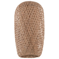 Design-A-Fixture Bamboo Weave 9 inch Mini Pendant Shade