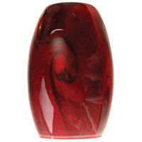 Design-A-Fixture Black Cherry 5 inch Mini Pendant Glass in Black Cherry Glass