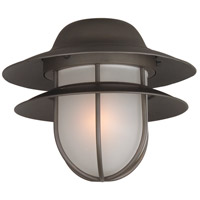 Outdoor Tiered Bulkhead 1 Light Oiled Bronze Light Kit