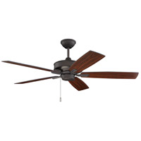 Craftmade OPT52ESP5 Optimum 52 inch Espresso with Espresso/Walnut Blades Ceiling Fan