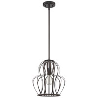 Craftmade P665ABZ1 Signature 1 Light 12 inch Aged Bronze Brushed Mini Pendant Ceiling Light