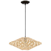Craftmade P695ESP1 Signature 1 Light 18 inch Espresso Mini Pendant Ceiling Light