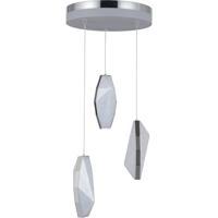 Craftmade P770CH3-HUE Hue LED 11 inch Chrome Mini Pendant Ceiling Light