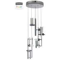 Craftmade P781CH6-HUE Signature LED 14 inch Chrome Mini Pendant Ceiling Light in Hue