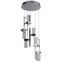 Signature LED 15 inch Chrome Mini Pendant Ceiling Light