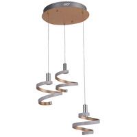 Craftmade P815MG3-LED Signature LED 19 inch Matte Gold Mini Pendant Ceiling Light in Mercury