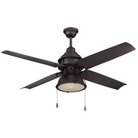 Craftmade Port Arbor 1 Light 52-inch Outdoor Ceiling Fan in Espresso with Espresso Blades PAR52ESP4