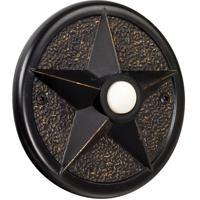 Craftmade PB3036-AZ Star Antique Bronze Push Button