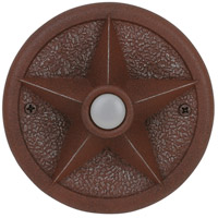 Craftmade Teiber LED Push Button in Rustic Iron PB3036-RI