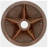 Craftmade PB3036-RT Star Rust Lighted Push Button