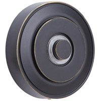 Craftmade PB5003-AZ Round LED Halo Antique Bronze Push Button Round