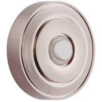 Craftmade PB5003-BNK Concealed Mounting Brushed Polished Nickel Push Button Round
