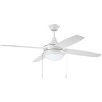 Craftmade PHA52W4 Phaze 52 inch White Ceiling Fan