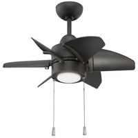Craftmade PPL24ESP6 Propel 24 inch Espresso Indoor Ceiling Fan, Blades Included