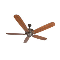 Craftmade Riata Grande 68-in Outdoor Ceiling Fan in Aged Bronze RT68AG5