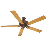 Craftmade Rutgers 72-in Indoor Ceiling Fan in Aged Bronze RU72AG5