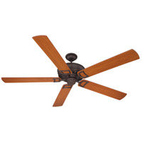Craftmade Rutgers 72-in Indoor Ceiling Fan in Oiled Bronze Gilded RU72OBG5