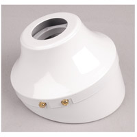 Craftmade SA130WW Signature White Slope Ceiling Adapter