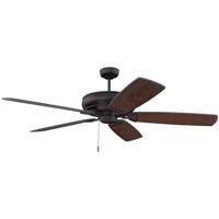 Craftmade SAP62ESP5 Supreme Air DC 62 inch Espresso with Espresso/Walnut Blades Indoor/Outdoor Ceiling Fan