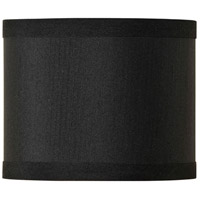 Jeremiah by Craftmade Design & Combine Mini Drum Shade in Raven Black SH36-MINIDRUM