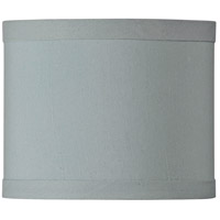 Design & Combine Ice Blue 6 inch Mini Drum Shade in Ice Blue Shade