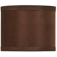 Jeremiah by Craftmade Design & Combine Mini Drum Shade in Chocolate SH42-MINIDRUM