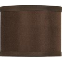 Craftmade SH42-MINIDRUM Design And Combine Chocolate 6 inch Mini Drum Shade
