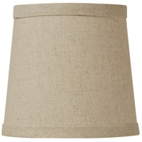 Jeremiah by Craftmade Design & Combine Clip Shade in Natural Linen SH51-5