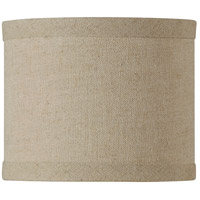 Design & Combine Natural Linen 6 inch Mini Drum Shade in Natural Linen Shade