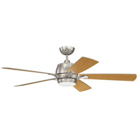 Craftmade STE52BNK5-UCI Stellar 52 inch Brushed Polished Nickel with Brushed Nickel/Maple Blades Ceiling Fan alternative photo thumbnail