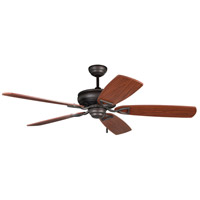 Ellington by Craftmade Supreme Air 56-in Indoor Ceiling Fan in Aged Bronze SUA56ABZ5