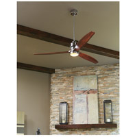Craftmade SON52CH-52WAL Sonnet 52 inch Chrome with Walnut Blades Ceiling Fan Kit alternative photo thumbnail