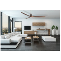 Craftmade SON52ESP-70WAL Sonnet 70 inch Espresso with Walnut Blades Ceiling Fan Kit alternative photo thumbnail