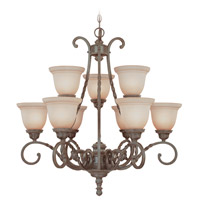 Craftmade 22429-ET Sutherland 9 Light 31 inch English Toffee Chandelier Ceiling Light alternative photo thumbnail