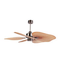 Ellington by Craftmade Tahiti 52-in Outdoor Ceiling Fan in Caribbean Brass TAH52CB5