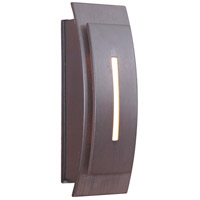 Craftmade Teiber Contemporary Curved LED Illuminated Touch Button in Aged Iron TB1020-AI