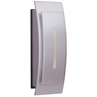 Curved Brushed Nickel Lighted Touch Button