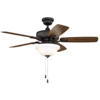 Craftmade TCE42ESP5C1 Twist N Click 42 inch Espresso with Reversible Dark Oak and Mahogany Blades Ceiling Fan