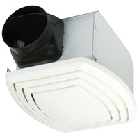 Fresh Air 18 inch Designer White Bath Exhaust Fan in 0
