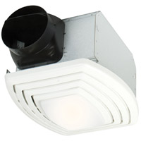 Craftmade TFV110SL Signature 15 inch Designer White Silent Fan Light in 2