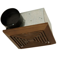 Craftmade Builder Ventilation 50 CFM Bathroom Exhaust Fan in Bronze TFV50-BZ