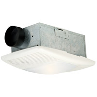 Signature 18 inch Designer White Bath Exhaust Fan in 950W, Light and Heat Combo