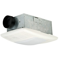 Signature Designer White Bath Exhaust Fan, Light and Heat Combo