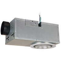 Recessed Ventilator 15 inch White Bath Exhaust Fan, with Light
