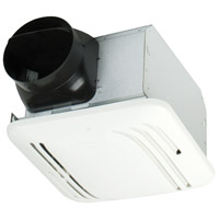 Craftmade TFV80S Fresh Air 18 inch Designer White Bath Exhaust Fan in 0