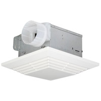 Builder 13 inch Designer White Bath Exhaust Fan in 0
