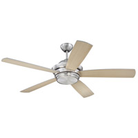 Craftmade TMP52BNK5 Tempo 52 inch Brushed Polished Nickel with Reversible Silver and Maple Blades Ceiling Fan alternative photo thumbnail
