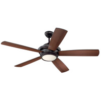 Craftmade TMP52OB5 Tempo 52 inch Oiled Bronze with Reversible Oiled Bronze and Walnut Blades Ceiling Fan alternative photo thumbnail